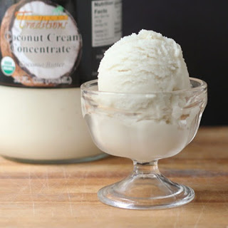 "Dairy-Free Coconut Almond ""Ice Cream"""