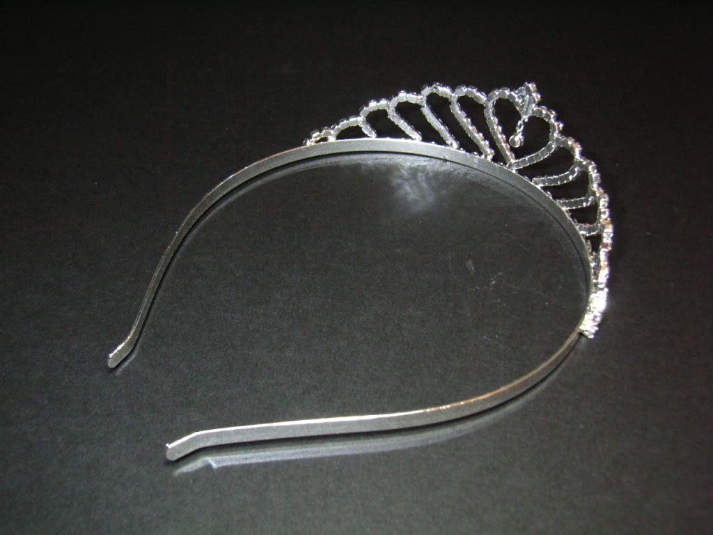 Tiara Bridal Wedding Comb.