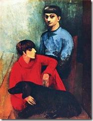 self-portrait-with-his-wife-renee-and-dog-kouski.jpg!Blog