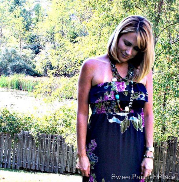 Floral maxi dress4