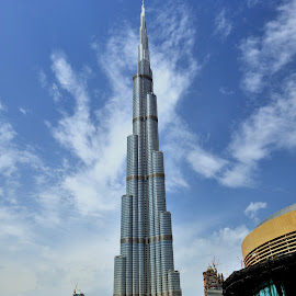Burj Khalifa by Tomasz Budziak - Buildings & Architecture Other Exteriors ( dubai, uae, buildings )