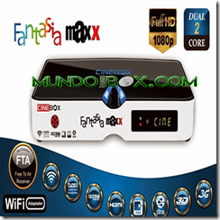CINEBOX FANTASIA HD MAXX DUAL CORE