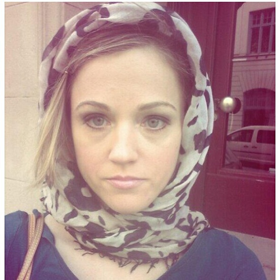 swedish girl hijab