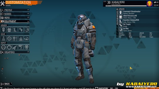 Blacklight: Retribution Armor