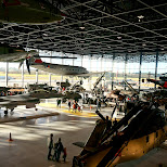 impressive collection at Dutch National Military Museum Soesterberg in Soest, Utrecht, Netherlands