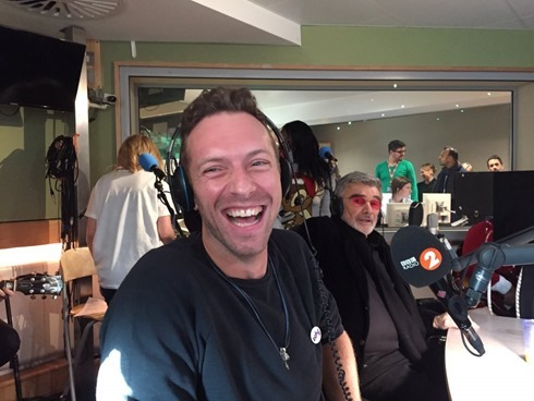2015-12-04 Chris Martin on the Chris Evans Show