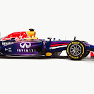 Red Bull Racing RB10 side view