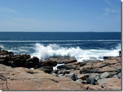 Wave action at Schoodic Point
