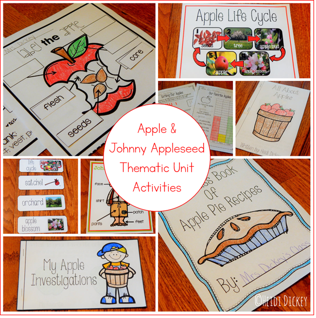 Apple & Johnny Appleseed Unit