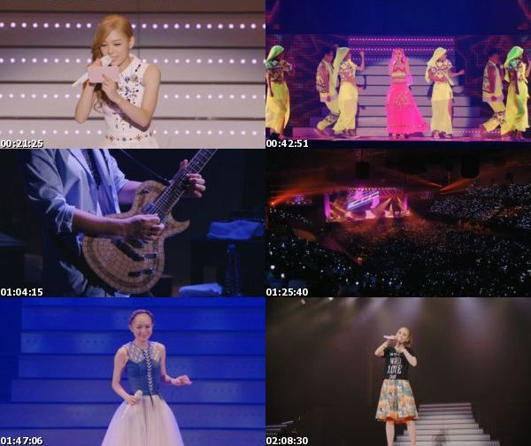 [TV-Variety] 西野カナ – with LOVE tour (BDRIP)