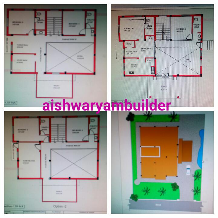 Modern individual house plans