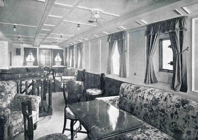MAGALLANES. Salón fumador de tercera clase. Libro Obras. S.E. de C.N. 1928.jpg