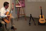 A continuación tuvo lugar la Prueba Acústica que contó con las guitarras de la luthier Donatella Salvato y de Guitarras Alhambra.