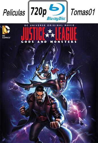 Liga de la Justicia: Dioses y monstruos (2015) [BRRip 720p/Dual Latino-ingles]