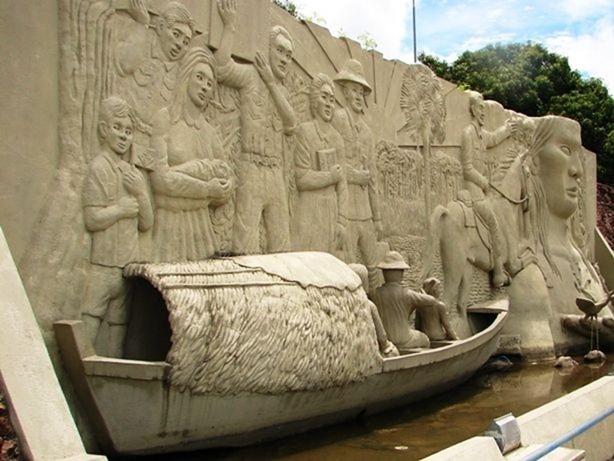 Monumento ao Pioneiros - Boa Vista, Roraima, fonte: Makunaima.com