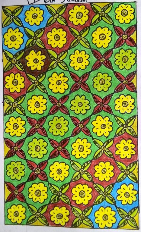 Aneka Motif Batik Seni Rupa