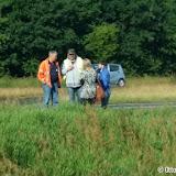 Weer auto van talud gereden N366 - Foto's Otto Kerbof