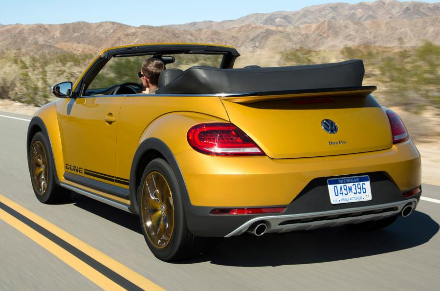 2016 Volkswagen Beetle Dune 1.8 TSI Cabriolet Prototype Revealed Review Car Price Concept