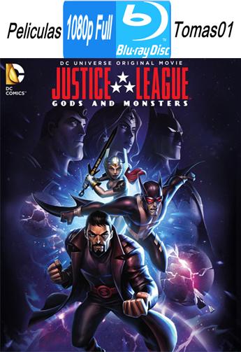 Liga de la Justicia: Dioses y monstruos (2015) [BRRipFull 1080p/Dual Latino-ingles]