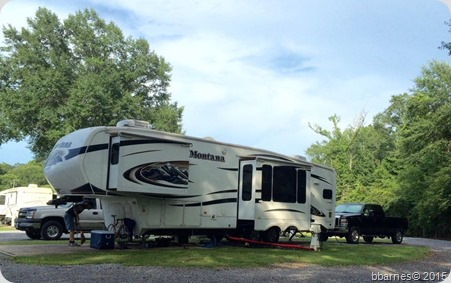 Benchmark Coach and RV Park site 14A Grenada MS 06192015