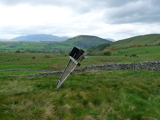 Looking to Great Mell Fell.