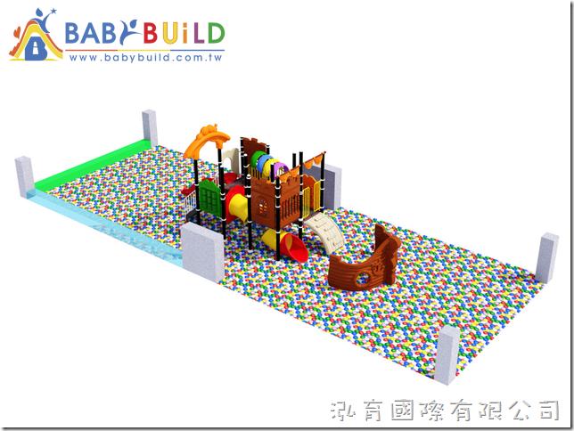 BabyBuild 度假飯店室內遊戲器材設計規劃