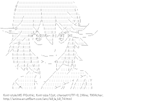 [AA]Matoi Ryuko (Kill la Kill)