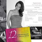 Concierto Extraordinario de Josué Tacoronte, guitarra (Cuba) con la participación de la soprano Erika Escribá-Astaburuaga (España).