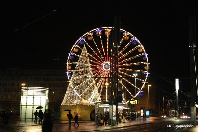 Рождественская ярмарка в Лейпциге