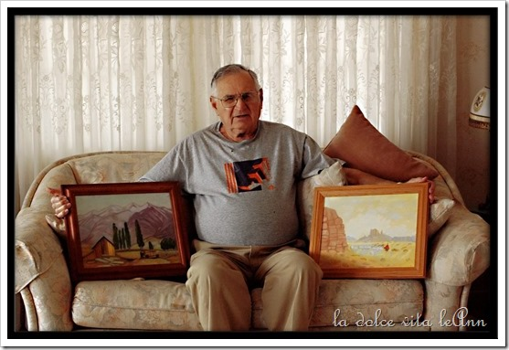 Grandpa with Pictures