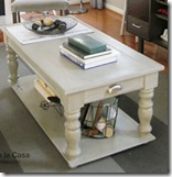 coffe table makeover