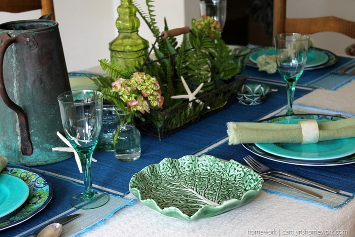 Mediterranean Table Setting via homework (10)