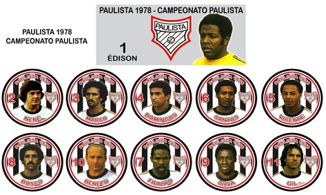 255 - Paulista 1978 - Campeonato Paulista