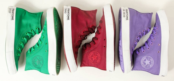 Sapatos Pantone