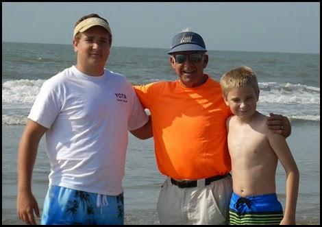 04e - beach - Grandpop and the boys
