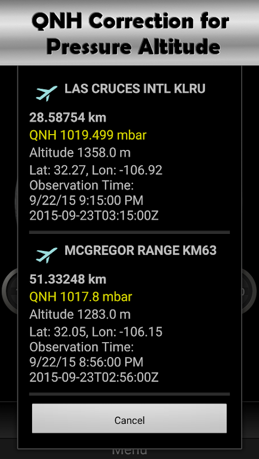 DS Altimeter Screenshot 4