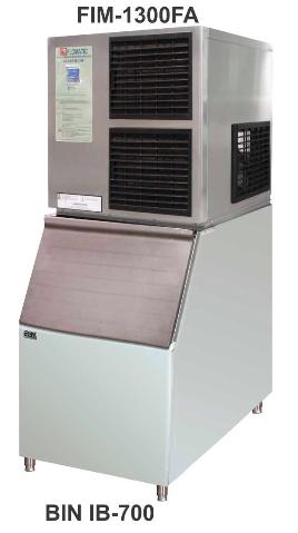 Mesin Pembuat Es Batu Kotak Kapasitas 494 Kg (Ice Cube Machine) : FIM-1300FA