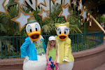 Hannah with Donald and Daisy at Hollywood Studios in Disney 06062011f