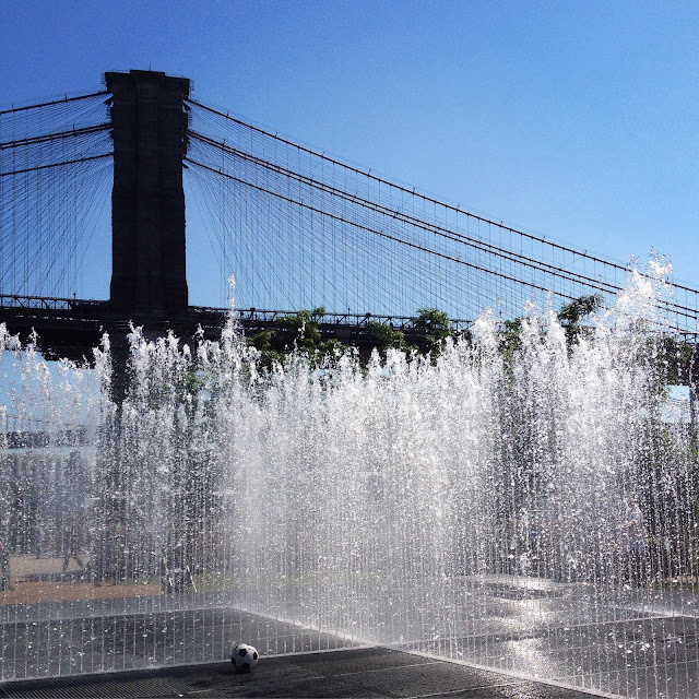 Appearing Rooms, Jeppe Hein, Please Touch the Art, Brooklyn Bridge Park, New York