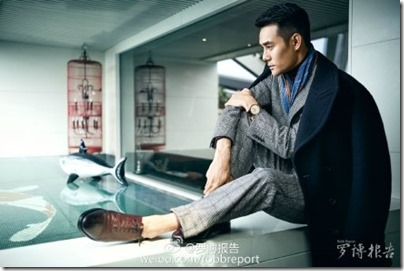Wang Kai X Robb Report 王凱 X 羅博報告 2015 Dec 03