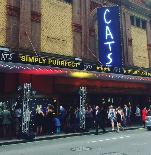 Cats the Musical - Capitol Theatre Sydney