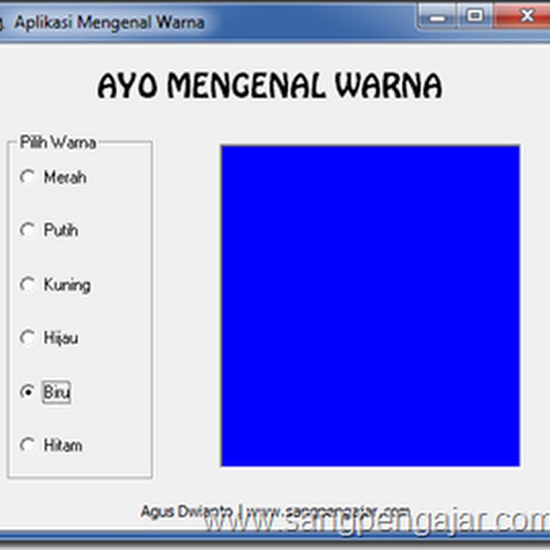 """Download Aplikasi """"AYO MENGENAL WARNA"""""""