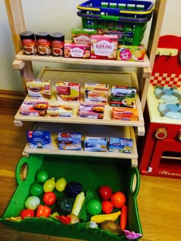 Casdon Play Shopping Baskets
