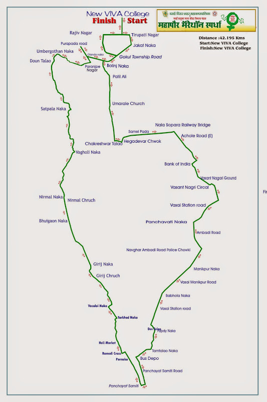 Vasai-Virar-Marathon-2014-Race-Route-Map