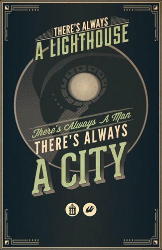 Video Game Quote Posters - Bioshock Infinite by Steph Chow