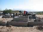 first cement truck 10/27