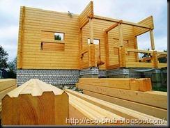 Этапы строительства брусовых домов 1