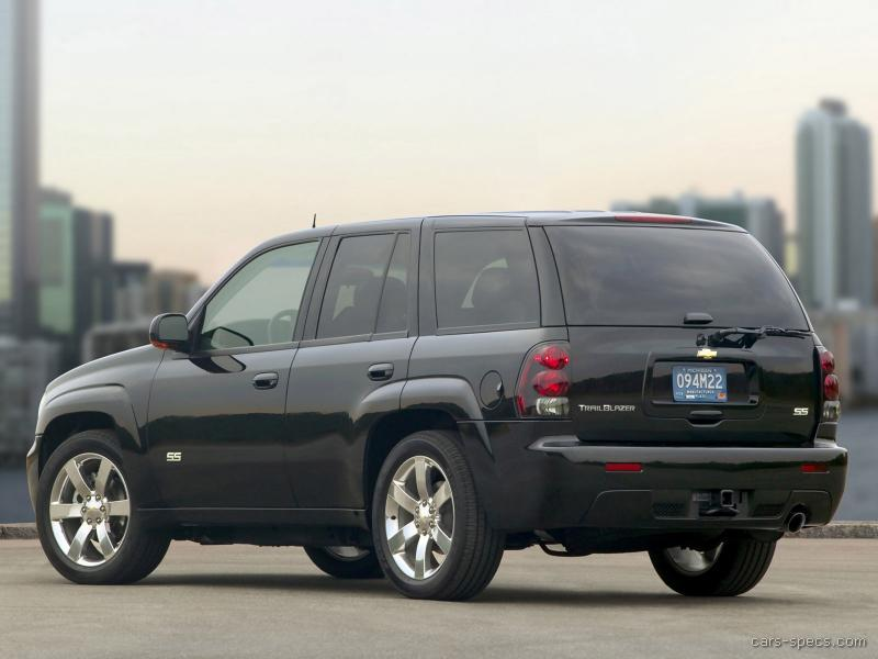 2007 chevrolet trailblazer ss specifications pictures prices. Black Bedroom Furniture Sets. Home Design Ideas