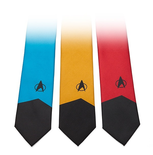 Star Trek Ties from ThinkGeek
