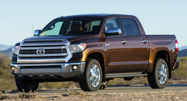 """American"" model in Toyota's lineup is without question, the Tundra"